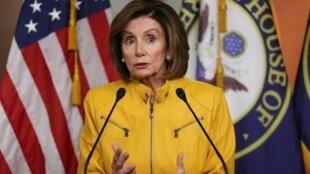 Spika wa bunge la wawakilishi  Nancy Pelosi