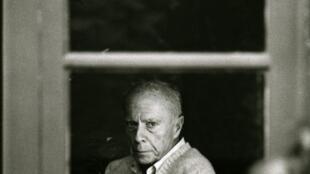 Claude Simon (1913 - 2005) recibió el premio Nobel de Literatura en 1985.