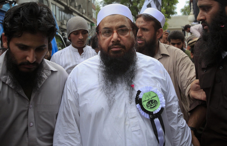 Hafiz Saeed từng được tổ chức Nhà nước Hồi giáo chỉ định làm thủ lĩnh ở Afghanistan - REUTERS /Mohsin Raza
