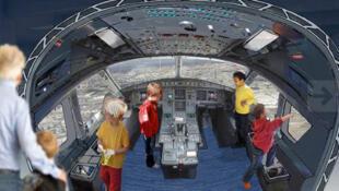 A Planète Pilote, plus de 40 manipulations interactives sont proposées sur les thèmes de l'aéronautique et de l'espace, lors de séances d'environ 75 minutes.