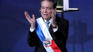 Laurentino Cortizo asumió la presidencia de Panamá este 1 de julio de 2019 en Ciudad de Panamá.