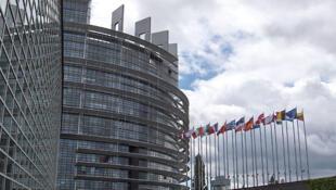 Sede do Parlamento Europeu em Strasbourg, França