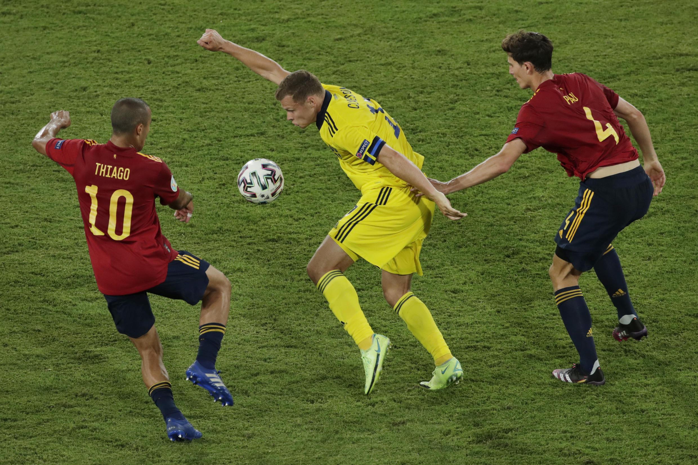 Espanha - Espagne - Spain - Suécia - Suède - Sweden - Futebol - Football - Desporto - Euro 2020 - UEFA
