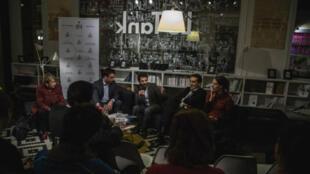 Atelier des médias avec Ziad Maalouf et ses invités.