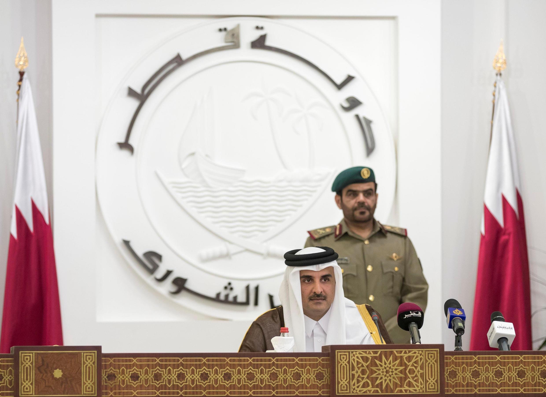 ស្តេចប្រទេសកាតា Cheikh Tamim ben Hamad al-Thani