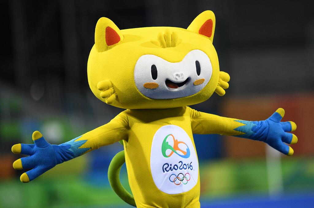 Vinicius, la mascotte des JO 2016 de Rio.