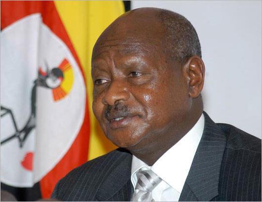 Rais wa Uganda, Yoweri Kaguta Museveni