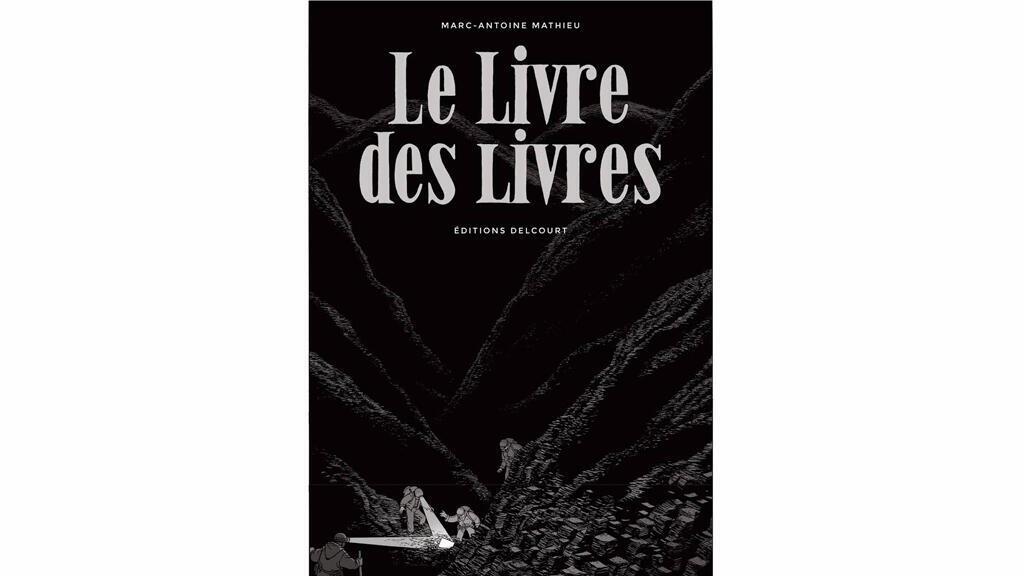 «Le livre des livres», de Marc-Antoine Mathieu.