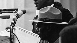 Выступление Мартина Лютера Кинга у Монумента Линкольна 28 августа 1963 года