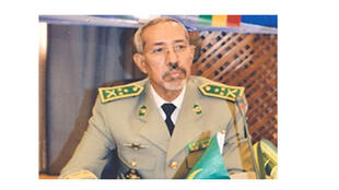 Le général mauritanien Hanena Ould Sidi, commandant de la force conjointe du G5 Sahel.