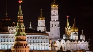 Ảnh minh họa: Điện Kremlin, Matxcơva, nơi uy quyền tột đỉnh Nga. Ảnh 4/09/2017.