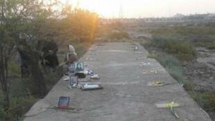 حضور خانواده های اعدام شدگان در گورستان خاوران