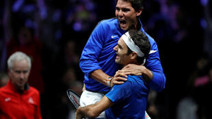 "Nadal e Federer, em dupla: o ""Dream Team"" do tênis."