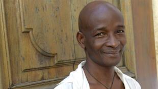 Kossi Efoui, l'auteur de «En guise de divertissement».