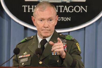 général Martin Dempsey  رئیس ستاد مشترک ارتش آمریکا
