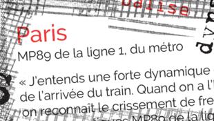 L'identité sonore du métro Paris.
