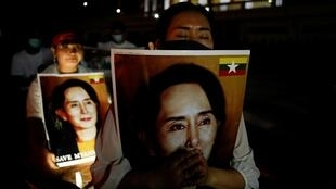 Manifestation Thaïlande Birmanie