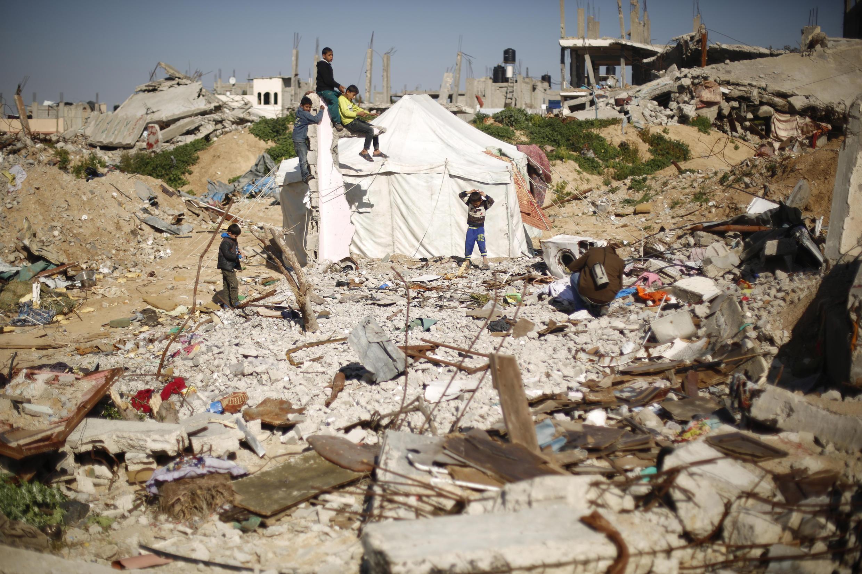 Al-Shejaiya district in Gaza City, 26 February 2015