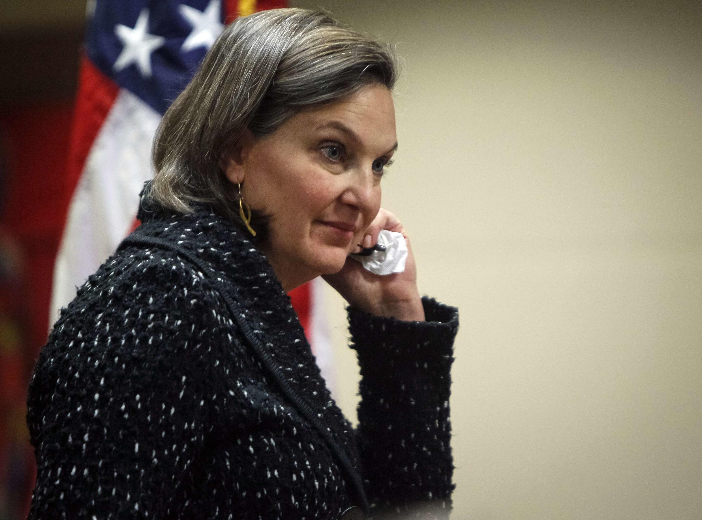 Subsecretária de Estado americana, Victoria Nuland, usou termos pouco diplomáticos para se referir à UE.