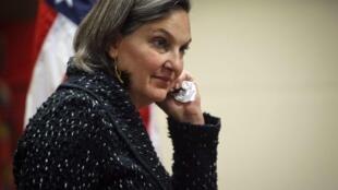 La secrétaire d'Etat adjointe Victoria Nuland a tenu des propos peu diplomatiques à l'égard de l'Union européenne.