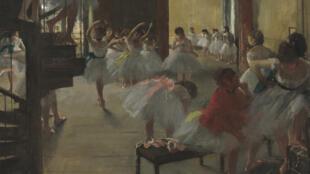 Edgar Degas (1834-1917) Aula de Dança, 1873-76- Óleo sobre tela Washington, DC, Galeria Nacional de Arte