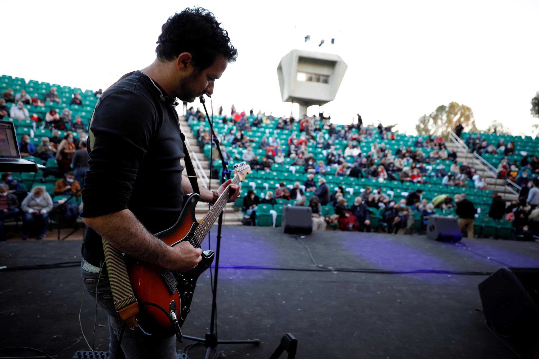 """Primeiros shows em Tel-Aviv para os portadores do """"passaporte verde"""", no final de fevereiro."""