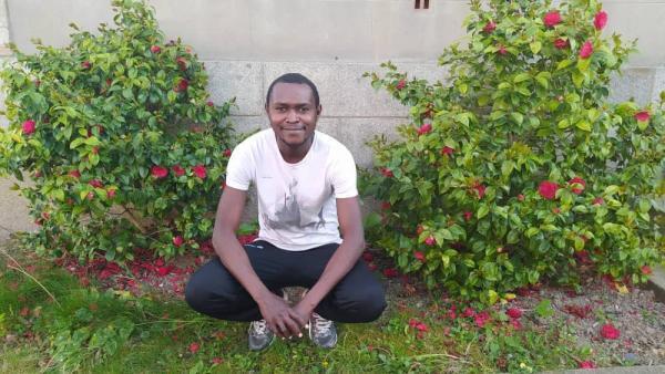 Le cousin Sosthene Kovoue.
