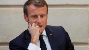 O Presidente francês Emmanuel Macron anunciou nesta segunda-feira 23 de setembro, em Nova York, o desbloqueio de um fundo suplementar de US$ 500 milhões para a Amazônia.