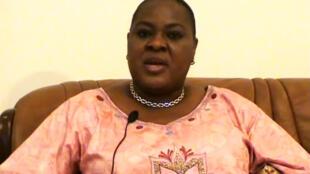 La présidente du Cafco, Rose Mutombo Kiese.