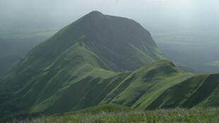 Le Mont Richard-Molard dans les Monts Nimba.
