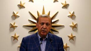 Shugaban kasar Turkiya, Recep Tayyib Erdogan
