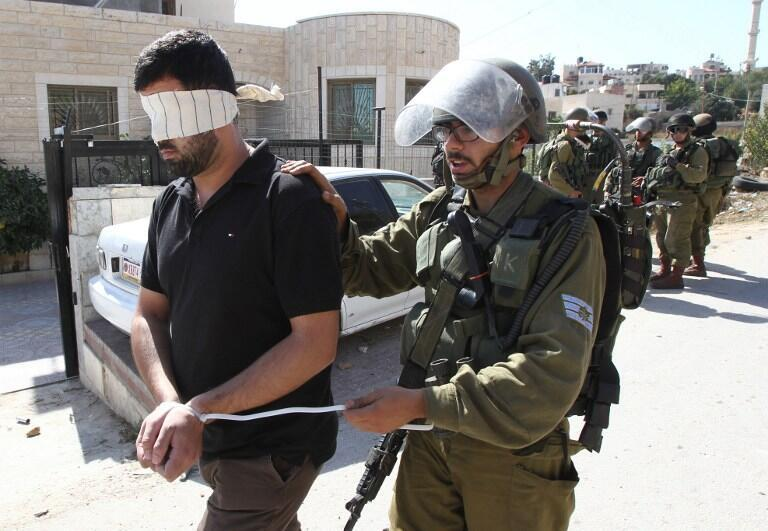 以色列军方在约旦河西岸逮捕恐怖嫌犯