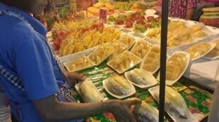Durian market in Bangkok, Thailand