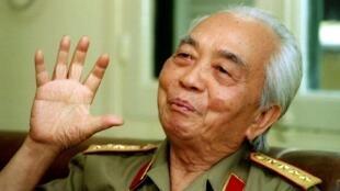 Le général Giap en 1995.