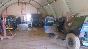 Le centre d'entretien logistique de «Barkhane».