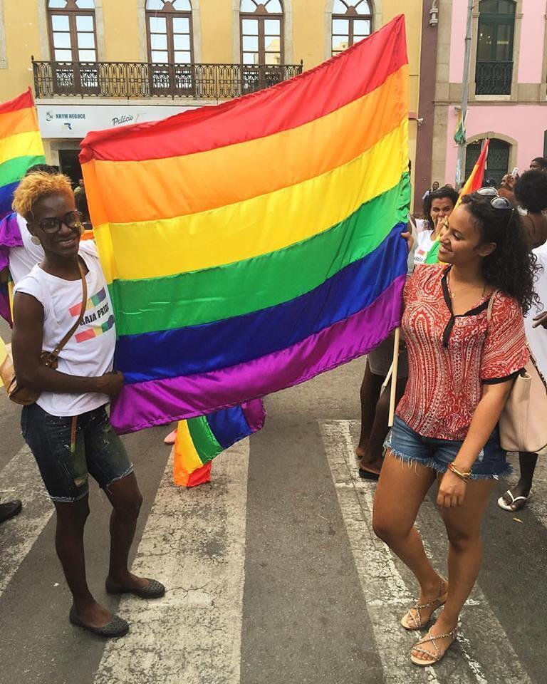 """Mayra Andrade na primeira edição da """"Praia Pride"""""""