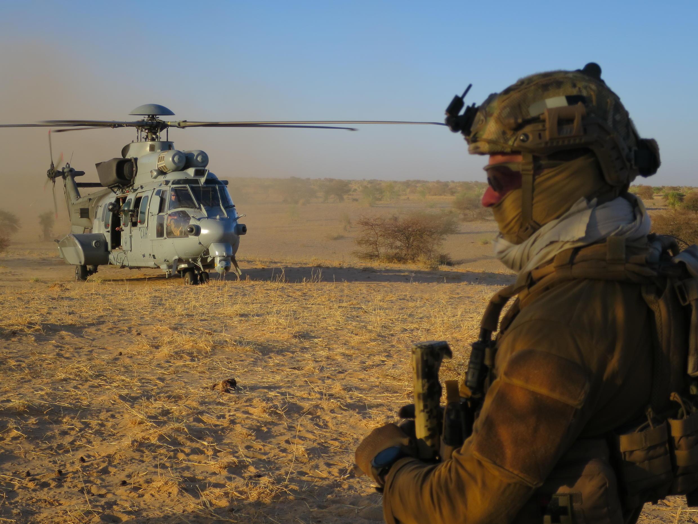 Mali: visite du chef d'état-major des armées françaises