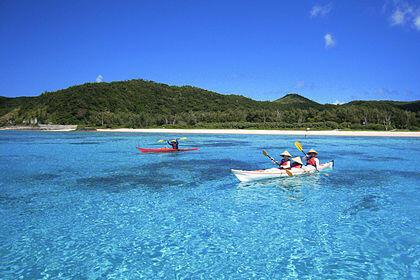 Zamamijima, una de las islas Kerama, parte de las Okinawa.