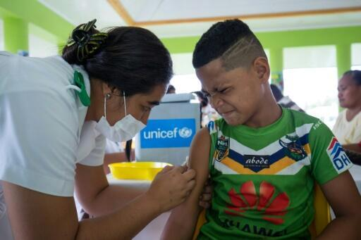 Samoa has introduced a compulsory vaccination programme in a desperate bid to stop the virus