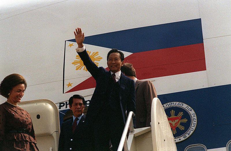 Tổng thống Philippines Ferdinand Marcos, khi còn cầm quyền giai đoạn 1965 - 1986.
