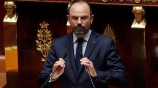 ادوارد فیلیپ نخستوزیر فرانسه در مجلس ملی