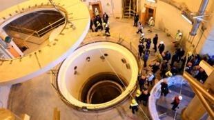 Инспекция ядерного реактора в иранском Эраке Организации по атомной энергии Ирана, декабрь 2019 г.