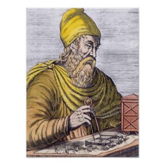 Le savant Archimède.