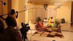 'Yan wasar fina-finan Hausa a Najeriya.
