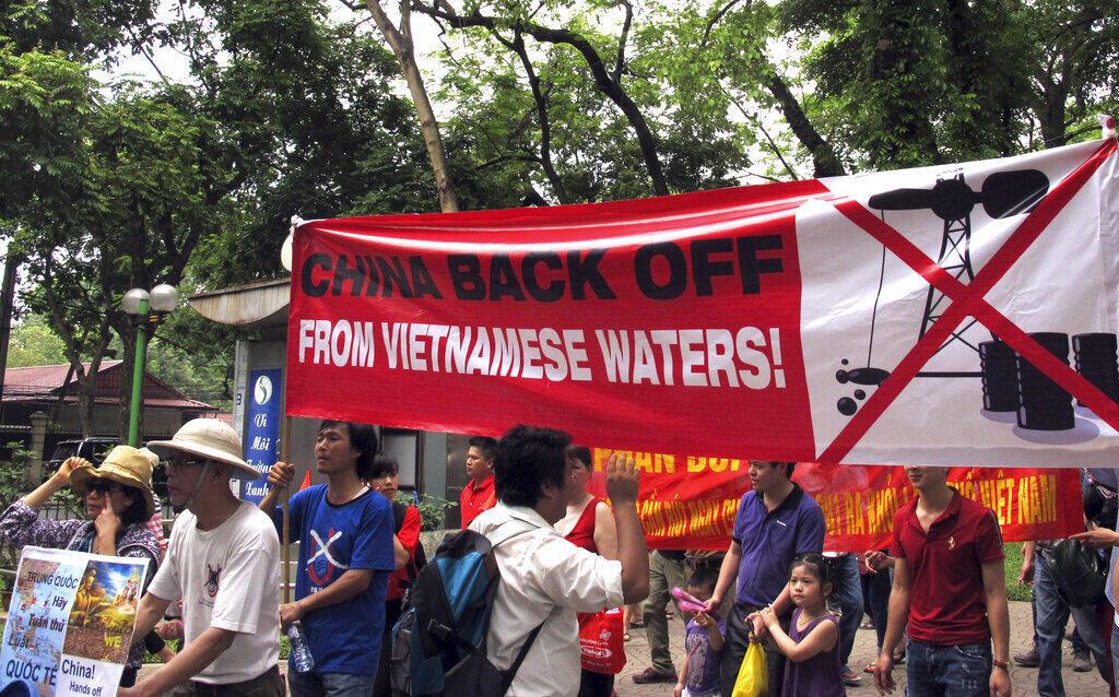 Vietnam - manifestation - Chine - Bien Dong - Mer de Chine méridionale