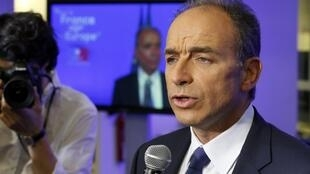Jean-Francois Cope, France's centre-right UMP political party head, 25 May 2014.