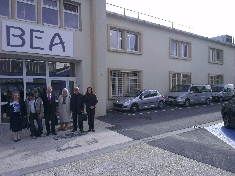 Os familiares das vítimas do voo 447 se reuniram hoje com a BEA, agência civil francesa que investigou as causas do acidente