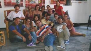 Los participantes del Taller de periodismo cultural para radio en el Centro Pablo de la Torriente Brau de La Habana.
