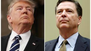 5月9日,特朗普下令免去联邦调查局局长科米的职务。