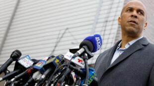 El senador demócrata Cory Booker en febrero de 2019.